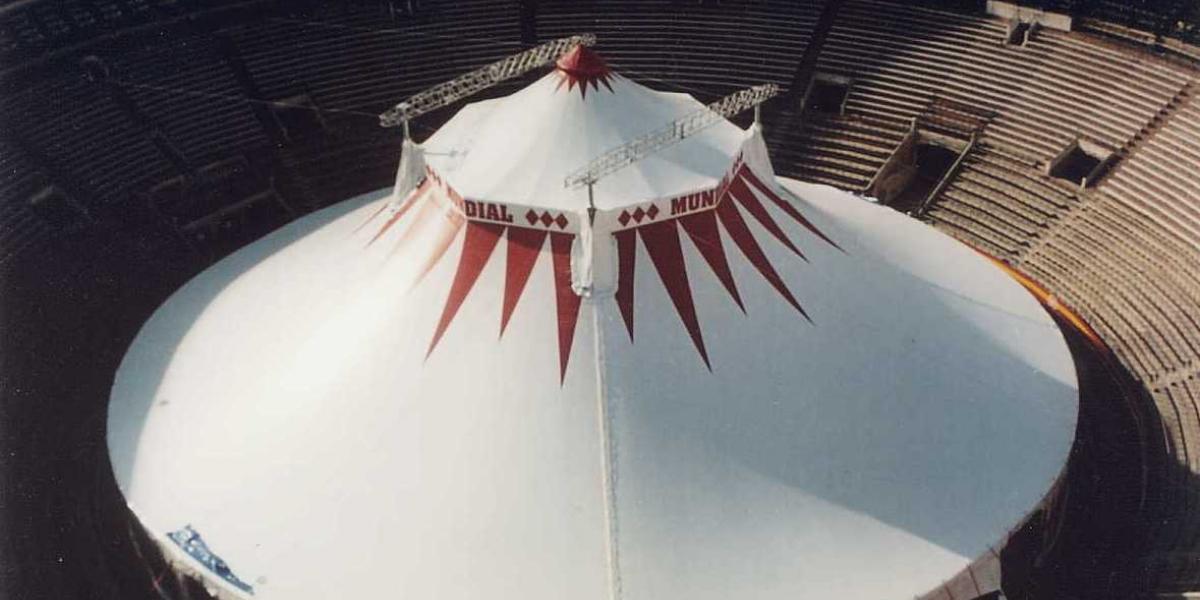 Circus material